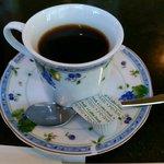 カフェレスト木鶏 - モーニングのホットコーヒー