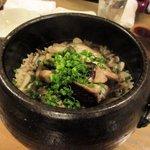 芳べえ - 鰹としめじの土鍋ご飯 2016.11.13