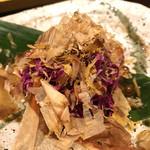 越後一会 十郎 - 食用菊、名前を忘れました…