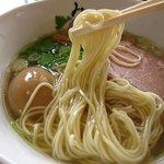 麺処 みどり - 細麺
