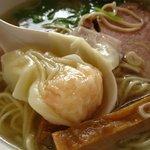 麺処 みどり - 海老ワンタン