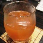 菜の音 - にごりフルーツ酒 トマト(ロック)¥480