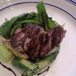 カフェレストラン ラヴィータ - ランチ、肉料理。確か豚ロースのバルサミコソース