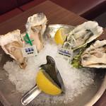 Oyster Bar ジャックポット 丸の内 - 生牡蠣(^∇^)