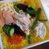 東寿司 - 料理写真:*ふたを開けると彩がキレイですねぇ。