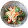 アボカドと豆腐のサラダ、チリマヨソース