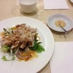 chuugokuryourinanen - 豚しゃぶと野菜の前菜
