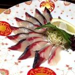 鯖みやま - 生鯖刺身