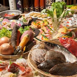 179市町村の食材を使った料理の数々