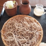 グロッケンシュピール - ざる蕎麦