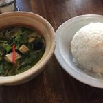 タイ国専門食堂 - グリーンカレー 大盛1100円