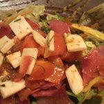 5884763 - モッツァレラチーズとトマトのさらだ