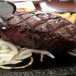ステーキガスト - 料理写真:厚切りミスジステーキ 225g 1834円 (税込)