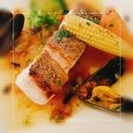 58841724 - 魚料理(舞阪産天然鯛のプロバンス風)