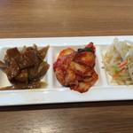 韓国料理Bibim - おかず3品は食べ放題❤︎