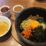 韓国料理Bibim - 熱々の石焼ビビムパ❤︎美味しかったですよ♪