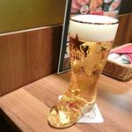 58845222 - ブーツジョッキグラスのサッポロビール