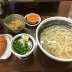 七福 - 料理写真:釜揚うどんとその仲間たち