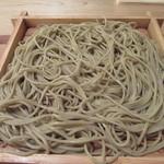 蕎麦切 砥喜和 - 蕎麦は硬直な食感