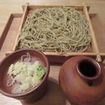 蕎麦切 砥喜和 - 「せいろ蕎麦」