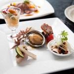 中国料理 燦宮 - 季節の特製前菜盛り合わせ