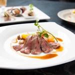 中国料理 燦宮 - 特選黒毛和牛のステーキ