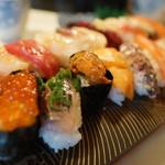 かねとも寿し - 料理写真:最特上寿司