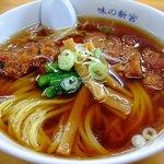 味の新宮 - パーコー麺