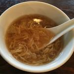 58851235 - ランチのスープ