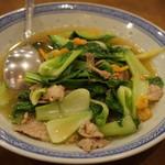 天竺園 - 青菜炒め
