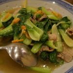 天竺園 - 青菜炒めUP