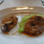 KIHACHI ITALIAN - ヴァリアンテランチ:主菜盛り合わせ