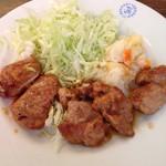 ビクトリヤ - 豚ひれ肉のしょうが焼き アップ