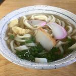 みささ - 料理写真:かけうどん(*゚∀゚*)200円