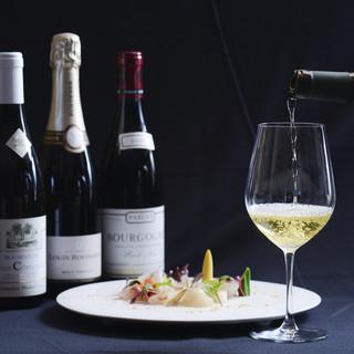¥4800¥6800¥8800円の価格別のワインリスト