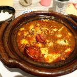 中國菜 心香 - 牡蠣入り四川麻婆豆腐
