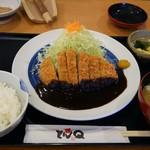 58854256 - 味噌ロースかつ定食(1566円)