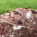 ブーランジェリー ジン - チョコとクランベリーのパン(400円)