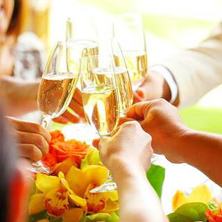 開放感溢れる寛ぎのひと時を!結婚2次会など貸切パーティーも