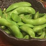 まるさ水産 - 枝豆(笑)