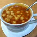 ターキッシュ テイスト - ひよこ豆のスープ