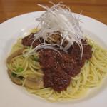 グルービー - 料理写真:ミート納豆