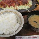 矢場とん - ご飯美味しいです(新米の季節というのもあるかな)