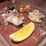 ラス ボカス - 魚介のカルパッチョ