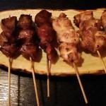 大勝 - タンとモモ肉(塩)