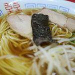 一番 - 中華そば、しみじみと美味しいんよなぁ・・・