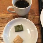 大衆ビストロ Hamakin - コーヒーのお供に名古屋名物のういろう
