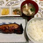 コーヒーマルシェ - 銀ダラ定食
