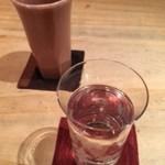 手打蕎麦 まるやま - 日本酒