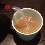 山せみ - 蕎麦湯